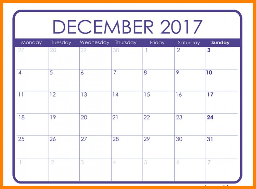 Calendar Date November Template Transparent PNG