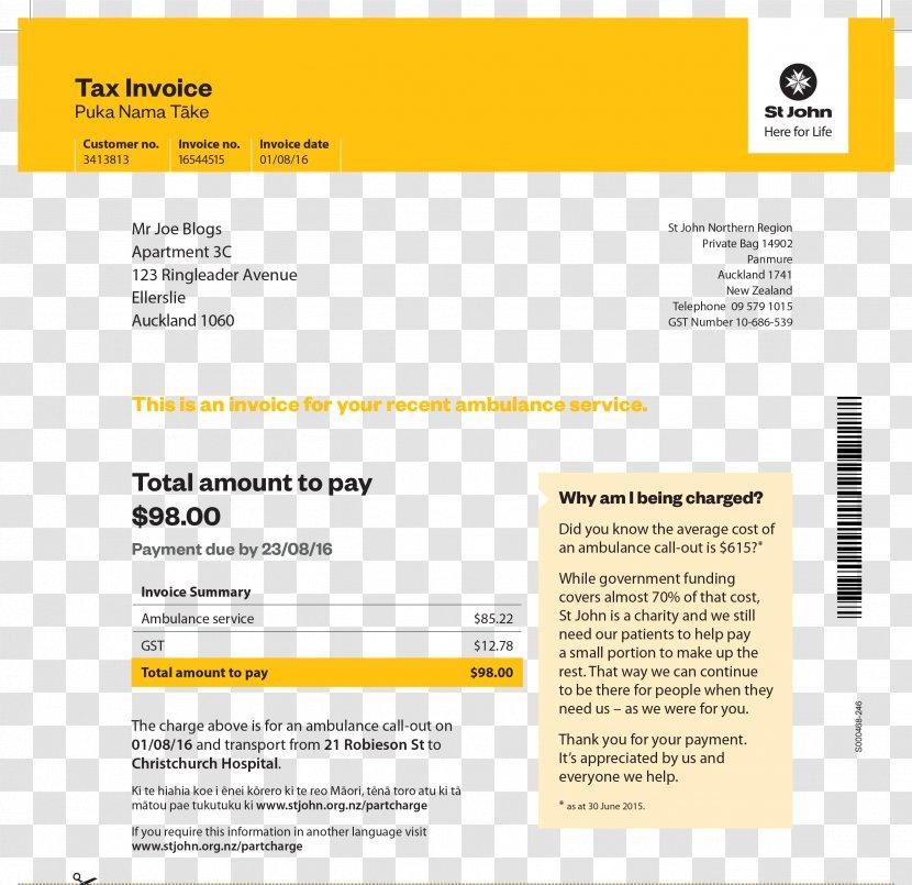 Invoice Business Receipt Template Brand Gst Transparent Png