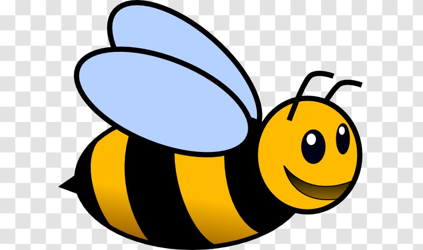 - Bumblebee Colouring Pages Coloring Book Honey Bee - Black And White  Transparent PNG