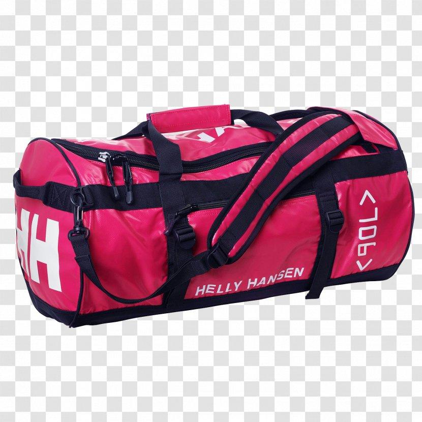 Duffel Bags Helly Hansen Coat - Pink - Bag Transparent PNG
