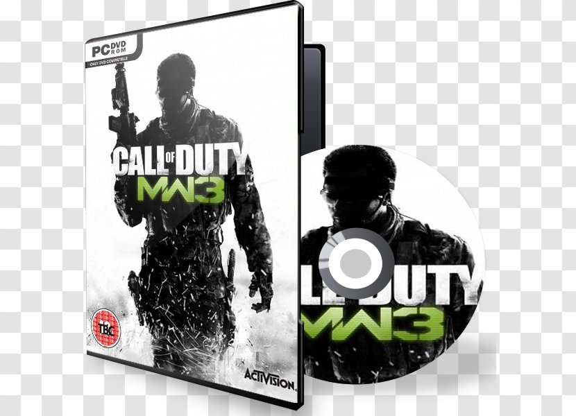Call Of Duty Modern Warfare 3 Duty 4 Xbox 360 Black Ops Treyarch Brand Transparent Png