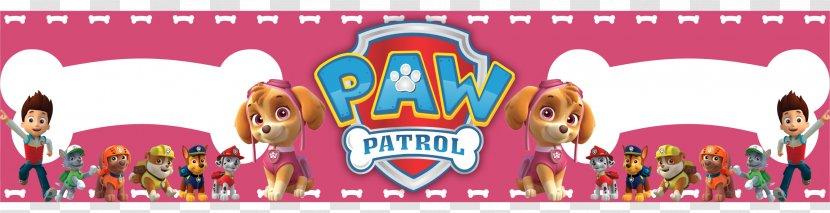 Label Dog Patrol Printing Transparent PNG
