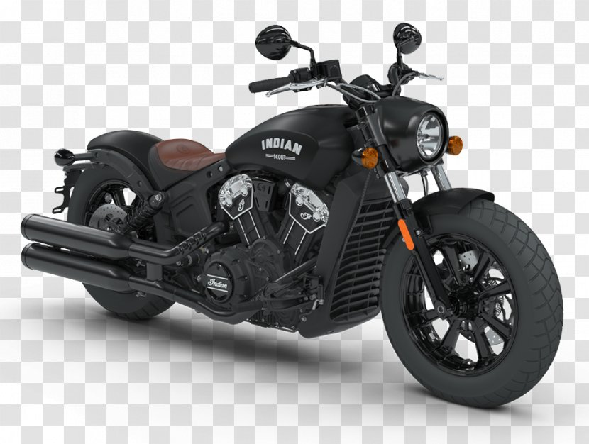 Indian Scout Motorcycle Bobber Chief - Cobra Transparent PNG