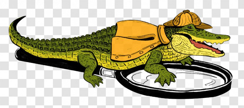 Alligator Private Investigator Detective Computer Forensics Forensic Science Artwork Realtime Strategy Transparent Png