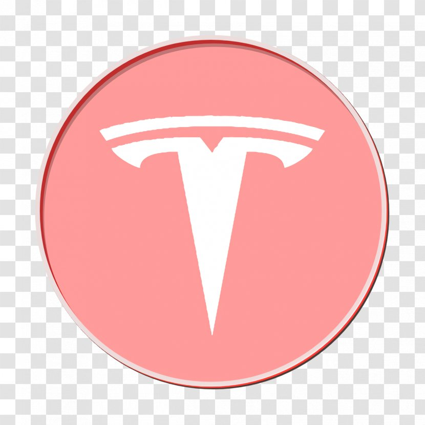 Youtube White Logo Tesla Model S Fictional Character Mouth Transparent Png