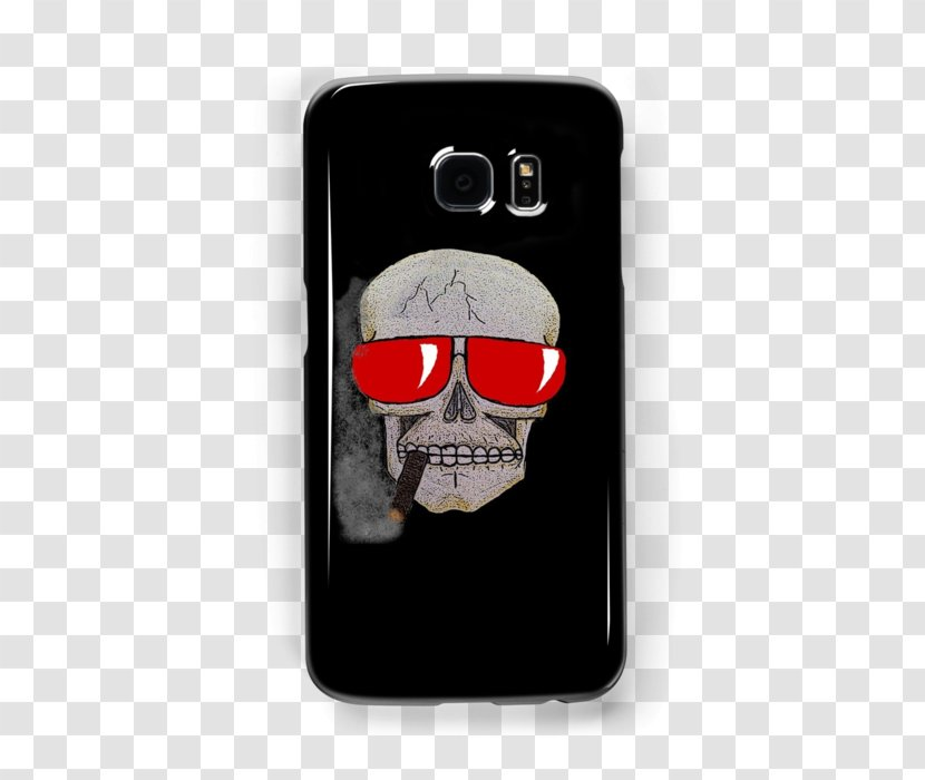 Medical Cannabis Hemp Oil Cannabidiol - Mobile Phone Case - Skull Wearing Sunglasses Transparent PNG