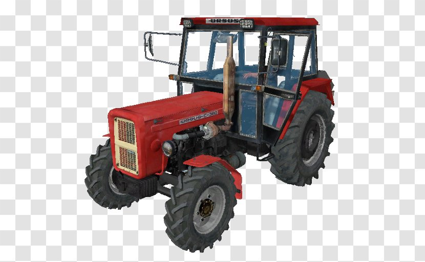 Tractor Farming Simulator 17 Car Ursus Factory C-360 - Renault 5 Turbo Transparent PNG