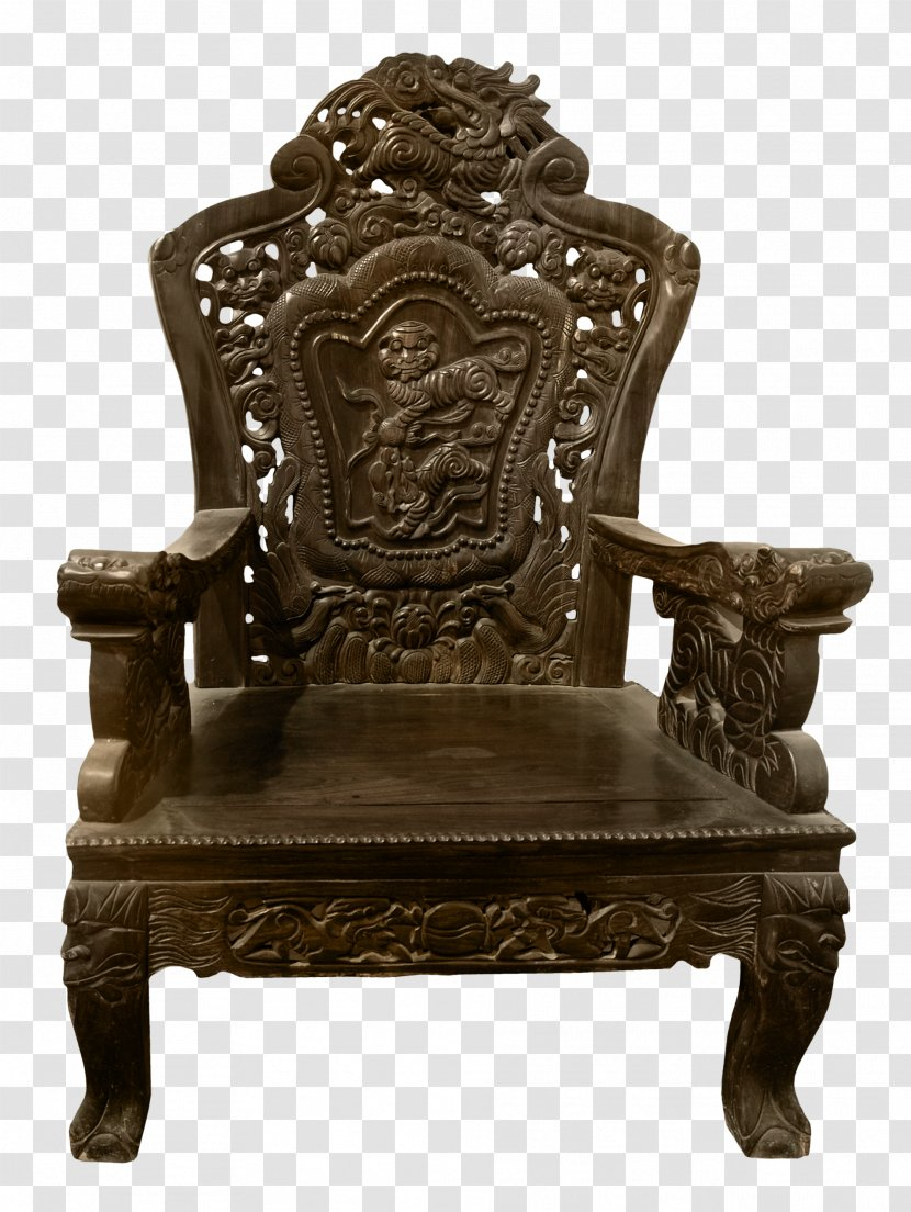 Table Chair Furniture Wood - Dining Room - Transparent Carved