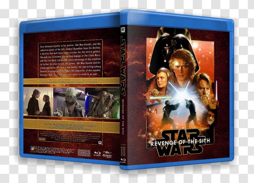 Blu Ray Disc Star Wars Prequel Trilogy Dvd Cover Art James T Kirk Transparent Png