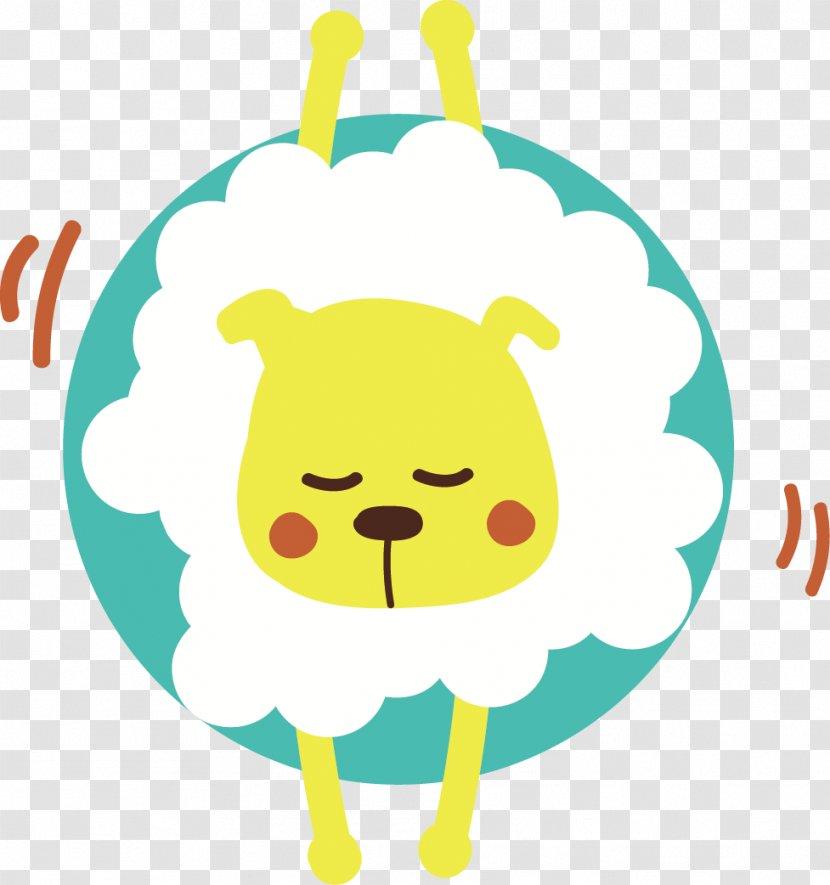 Cartoon Illustration - Smile - 9 Cute Animal Head Transparent PNG