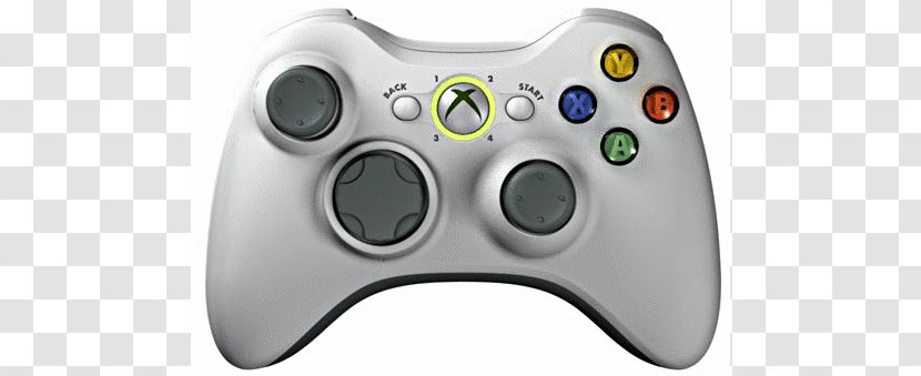 Xbox 360 Controller Joystick Wii Remote Playstation 3 Playstation Accessory Gamer Cliparts Transparent Png