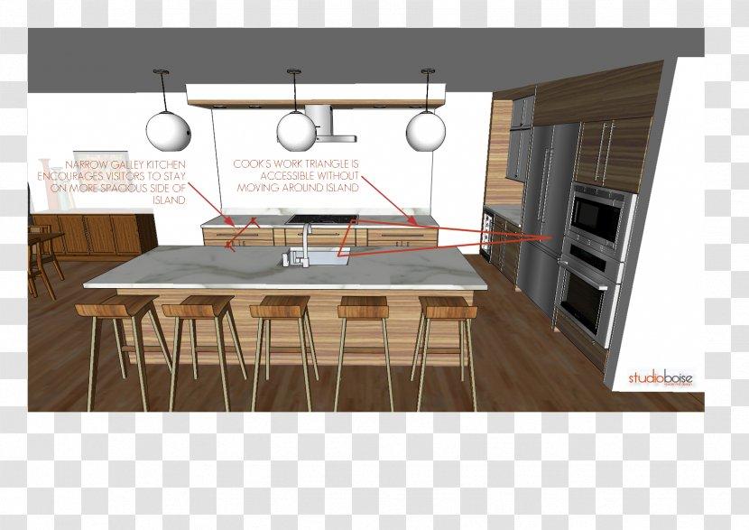 Plywood Flooring Furniture Kitchen Floating Island Transparent Png