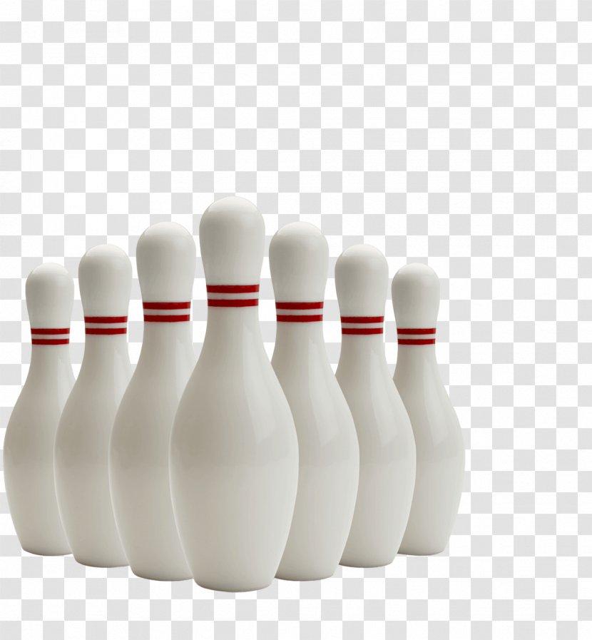 Bowling Pin Balls Nine-pin Ten-pin - Red Ball And Vector Material Transparent PNG