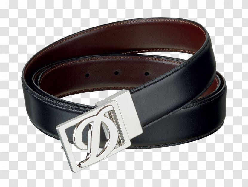 S. T. Dupont Belt Leather Marochinărie Buckle - Frame Transparent PNG