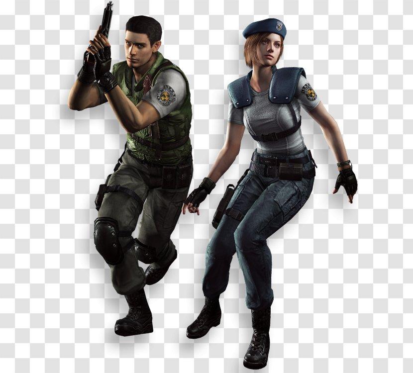 Resident Evil 5 Evil The Umbrella Chronicles Jill Valentine Chris Redfield Transparent Png