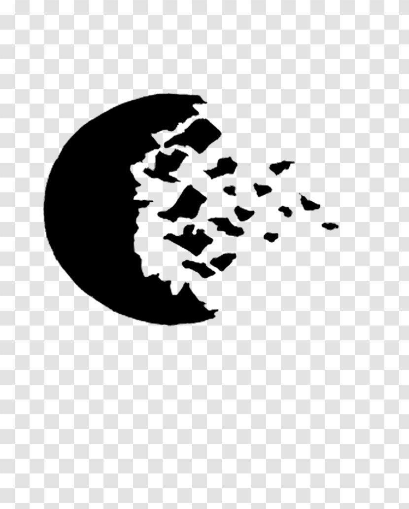 Moon Desktop Wallpaper - Black Transparent PNG