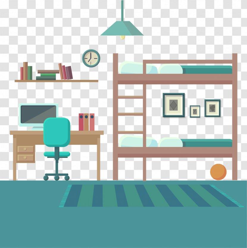 Bedroom Vector Graphics Drawing Image Classroom Bookshelf Transparent Png