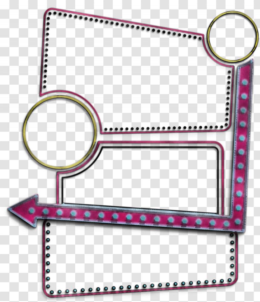 Line Angle Pink M Font Meter Transparent PNG