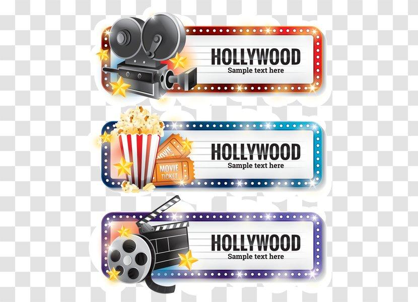 Vector Graphics Film Reel Illustration Hollywood - Brand - Design Transparent PNG