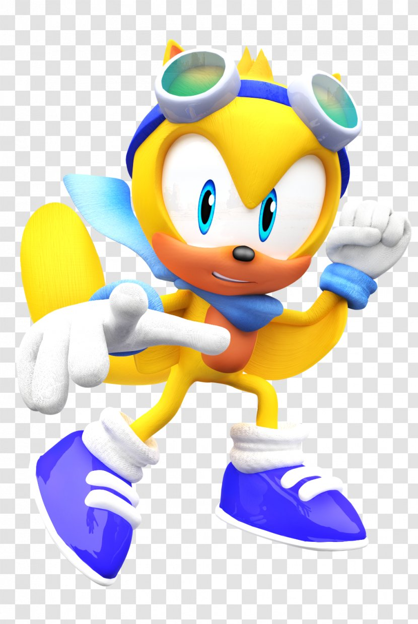 Ray The Flying Squirrel Espio Chameleon Segasonic Hedgehog Sonic Lost World Photography Transparent Png