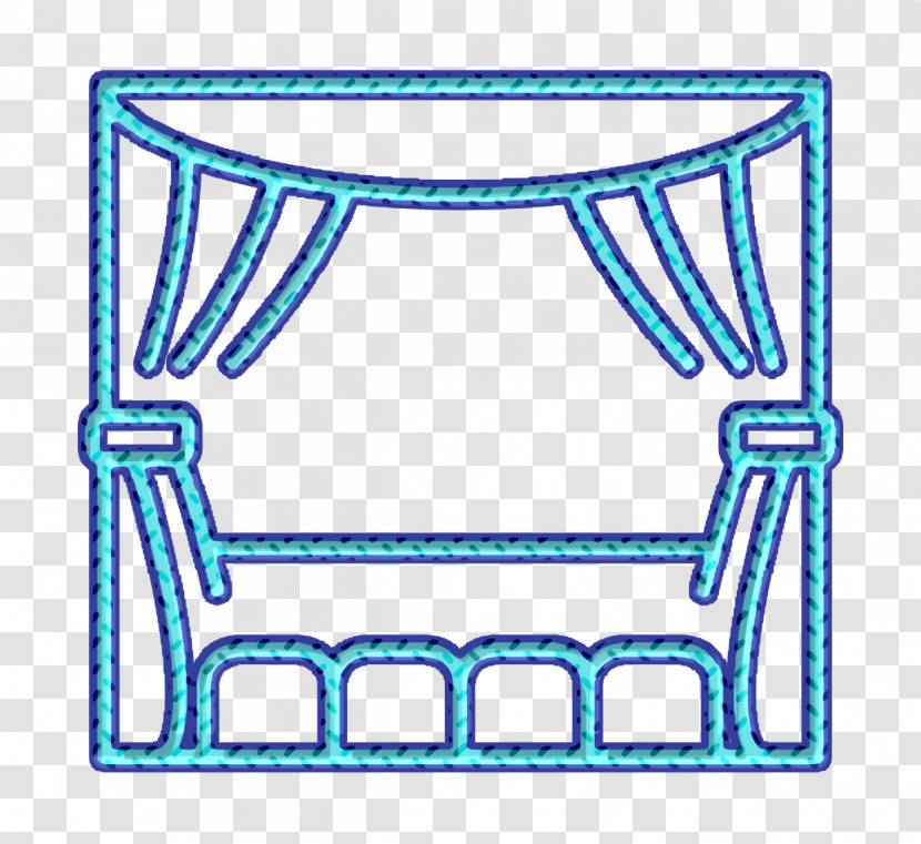 Theater Icon Scenic Arts Icon Transparent PNG