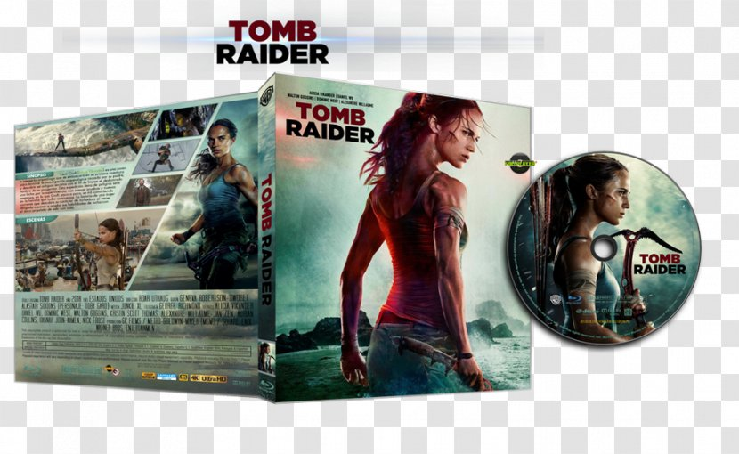 tomb raider 2018 dvd cover