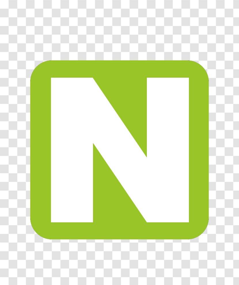 Logo Brand Green Line - Text Transparent PNG