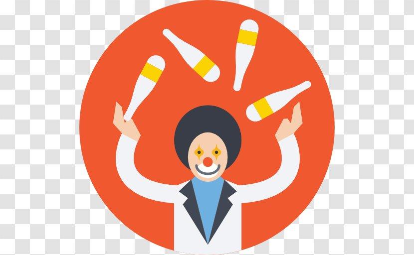 Circus Clown Juggling Transparent PNG