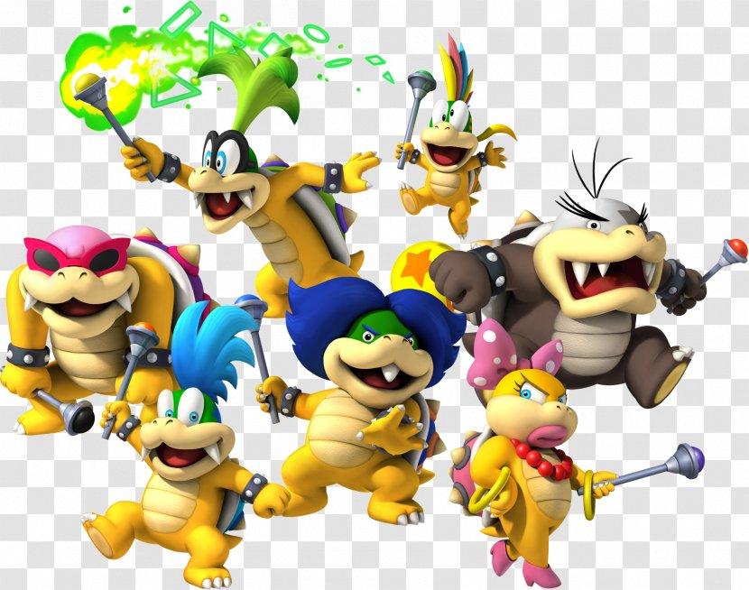 New Super Mario Bros Wii U Bros Bowser Transparent Png