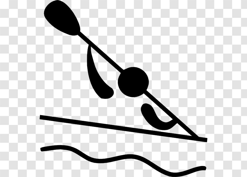 Canoeing And Kayaking At The Summer Olympics Canoe Slalom Clip Art - Rowing Transparent PNG
