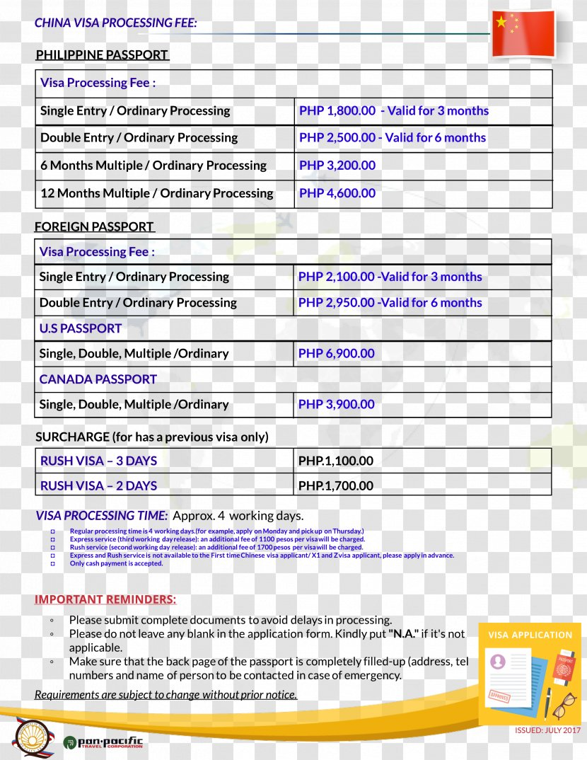 Travel Visa Philippines Chinese Application Service Centre China Screenshot Transparent Png