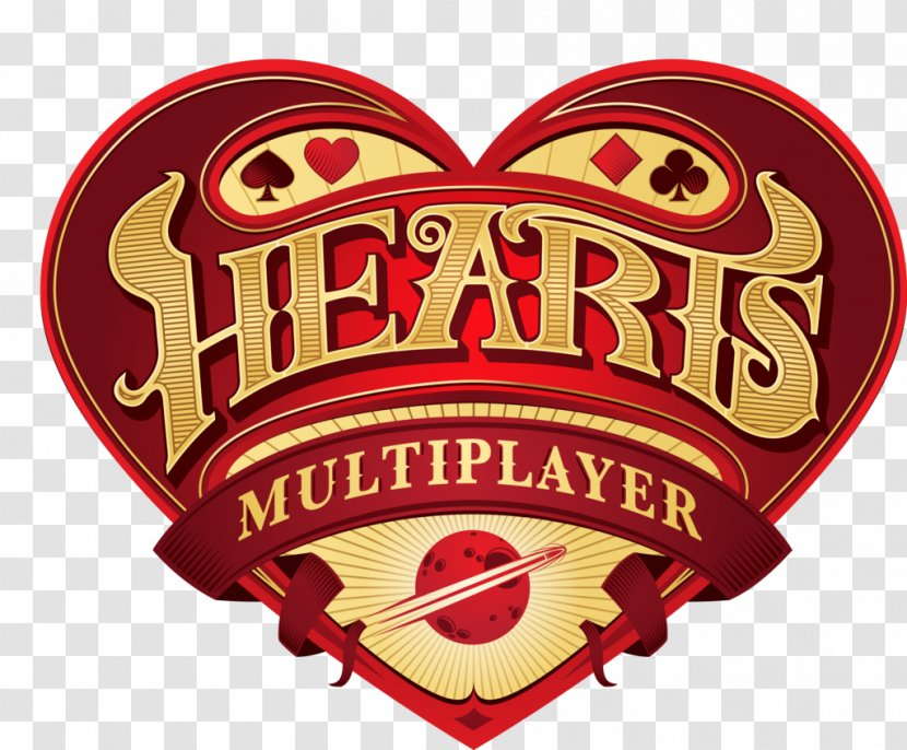 Hearts Multiplayer Conquer Online Card Game Blue Frog Gaming Playing Calligraphy Heart Transparent Png