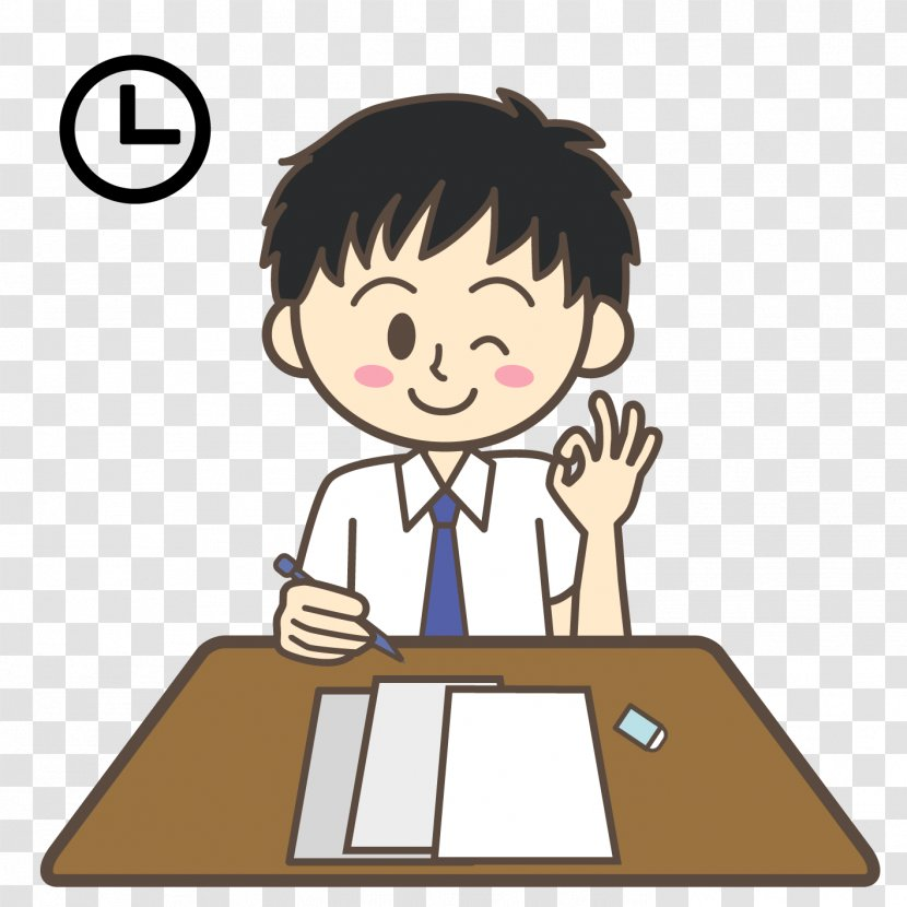 Act Test Sat Clip Art Management Anxiety Thinking Cartoon Transparent Png