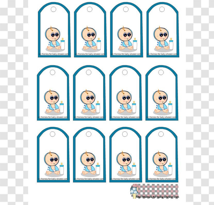 Baby Shower Wedding Invitation Gift Party Clip Art Boy Free Borders Transparent Png