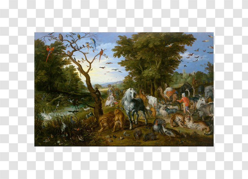 The Entry Of Animals Into Noah's Ark Getty Center Kunsthistorisches Museum Artist Painting Transparent PNG