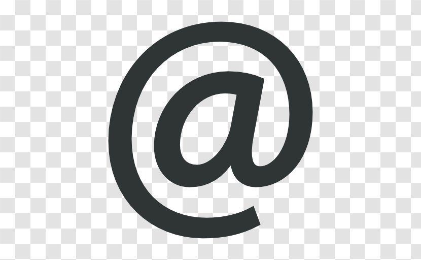 Email Vector Graphics Symbol At Sign Transparent Png