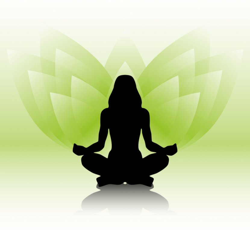 Yoga Lotus Position Silhouette Sitting Hatha Transparent Png