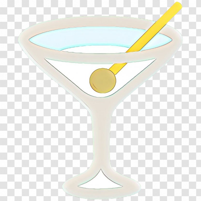 Table Cartoon Cocktail Garnish Champagne Stemware Liqueur Transparent Png
