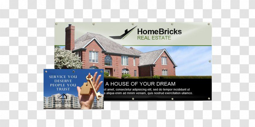 Banner Property House Real Estate Trade Transparent Png