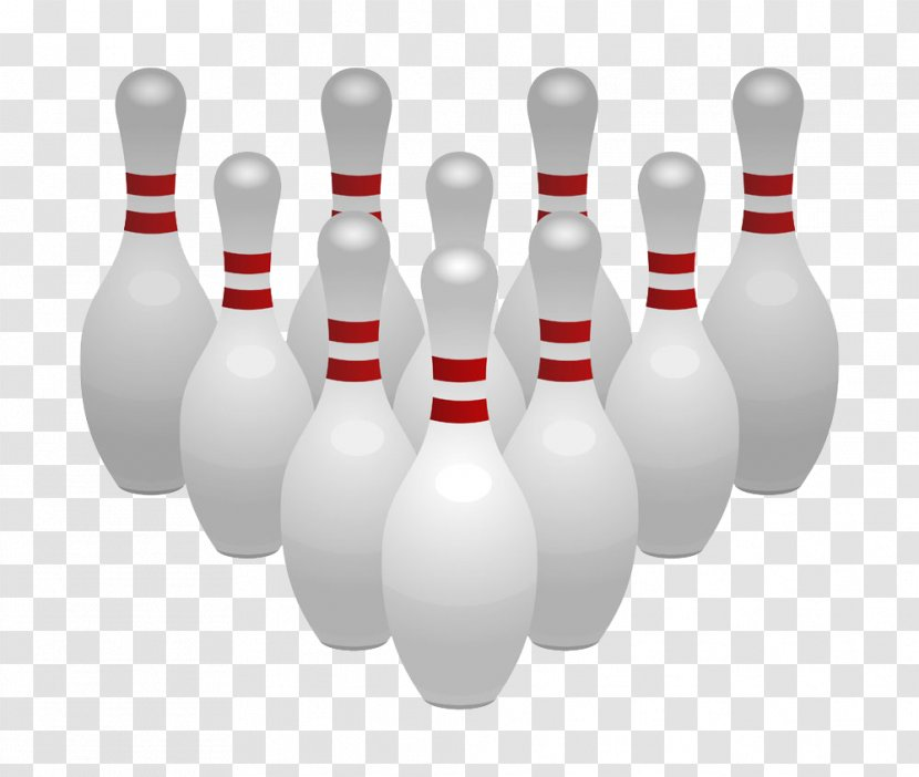 Bowling Pin Ball Clip Art - Leisure Transparent PNG