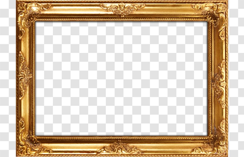 Picture Frames Mirror Painting Wood Gold Leaf Paint Frame Background Transparent Png