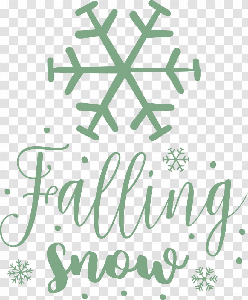 Falling Snow Snowflake Winter Transparent PNG
