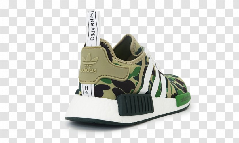 Sports Shoes Adidas NMD R1 Bape Primeknit 'Footwear - Foot - Rainbow For Women Transparent PNG