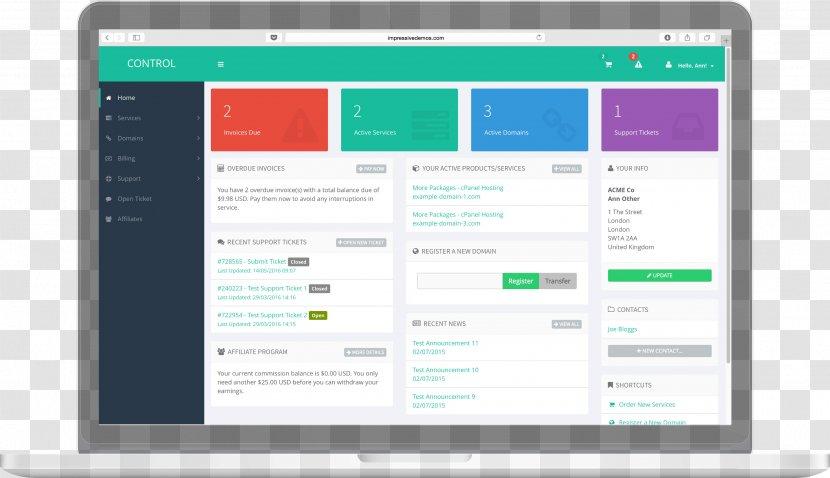 Template Theme Responsive Web Design Wordpress Download Page Transparent Png