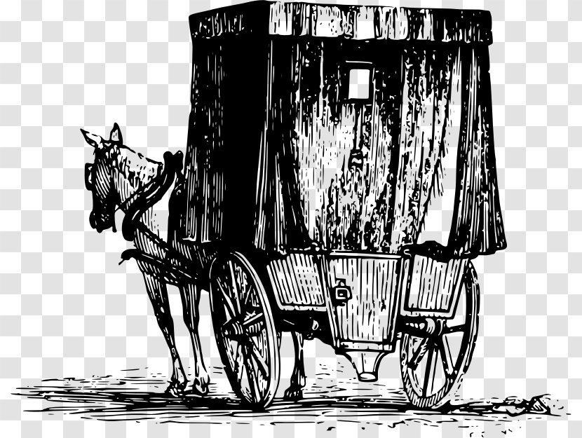 Jaunting Car Horse-drawn Vehicle Killarney - Chariot Transparent PNG