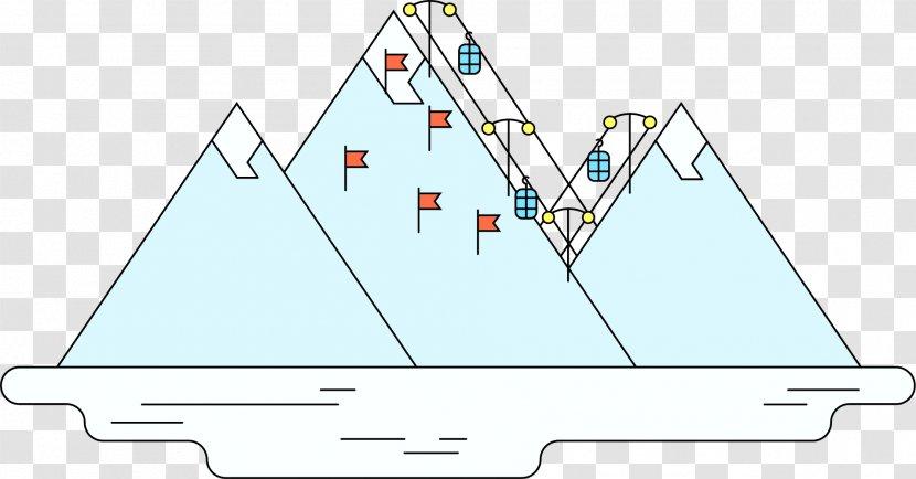 Nature Triangle Iceberg Transparent Png
