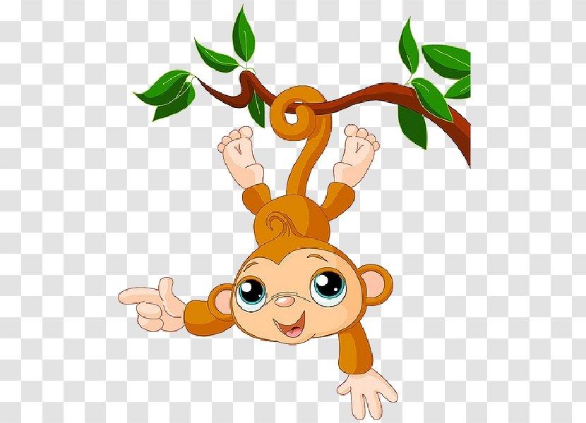 Drawing Baby Monkeys Clip Art Funny Animal Cute Monkey Transparent Png,Bathroom Remodel Bathroom Floor Tile Ideas