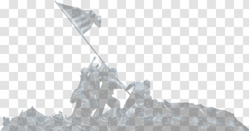 Mount Suribachi Raising The Flag On Iwo Jima Second World War Battle Of United States Transparent PNG