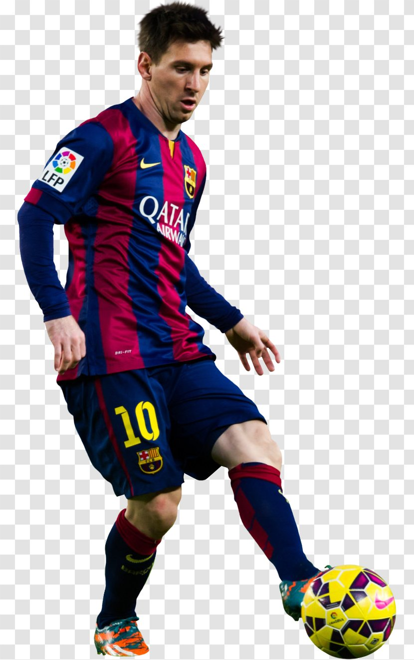 Lionel Messi Fc Barcelona Football Player 2014 15 Uefa Champions League Sports Equipment Transparent Png