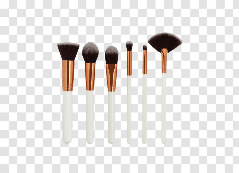 Paintbrush Eye Shadow White Color Palette Makeup Brush Transparent Png